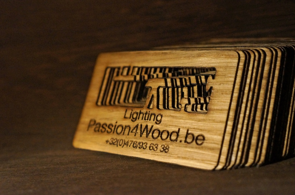 Passion4Wood business card klein